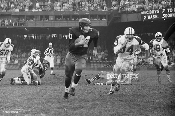 Washington Redskins Player Running with Ball