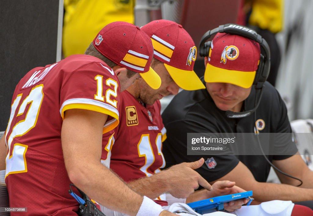 NFL: SEP 16 Colts at Redskins : News Photo