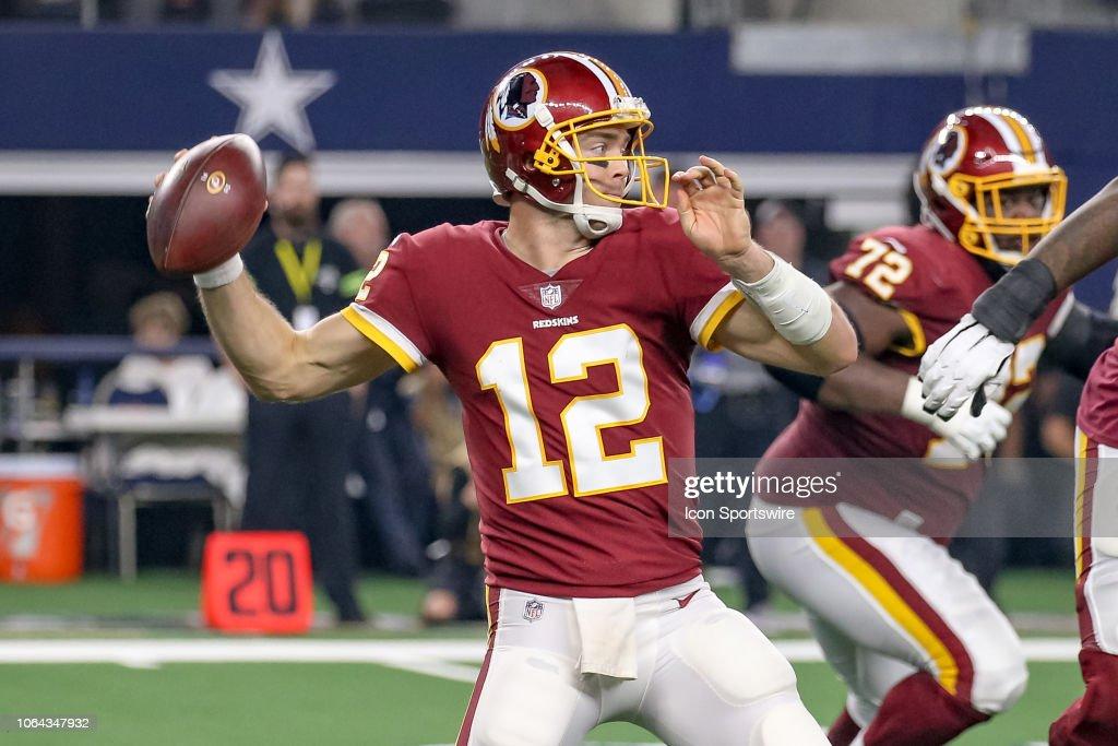 NFL: NOV 22 Redskins at Cowboys : News Photo