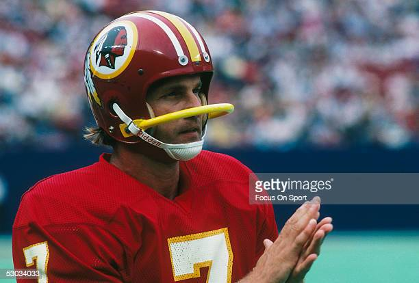 Washington Redskins quarterback Joe Theismann during a game
