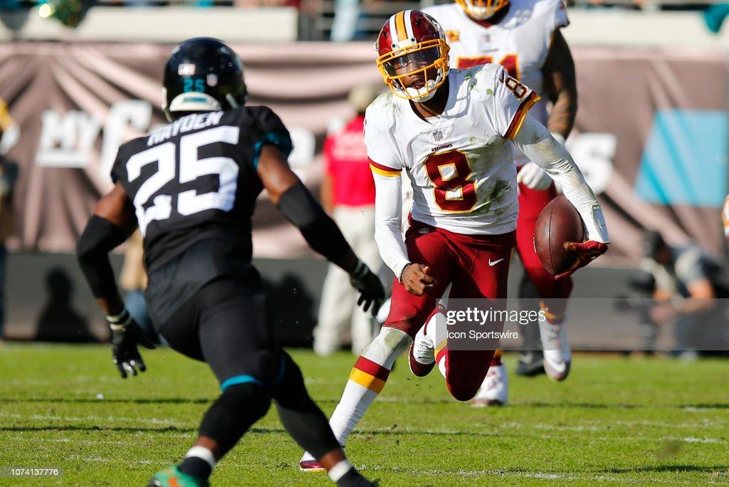 NFL: DEC 16 Redskins at Jaguars : News Photo