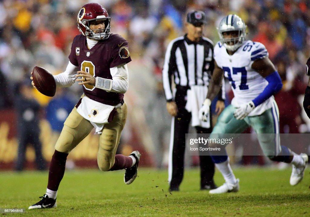 NFL: OCT 29 Cowboys at Redskins : News Photo