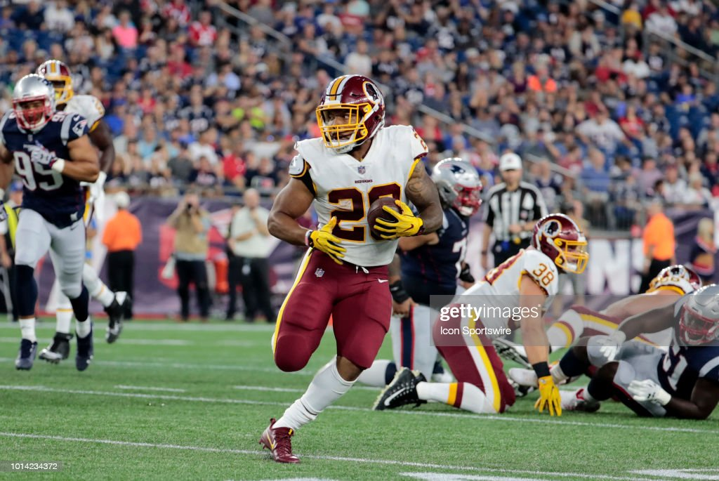 NFL: AUG 09 Preseason - Redskins at Patriots : News Photo