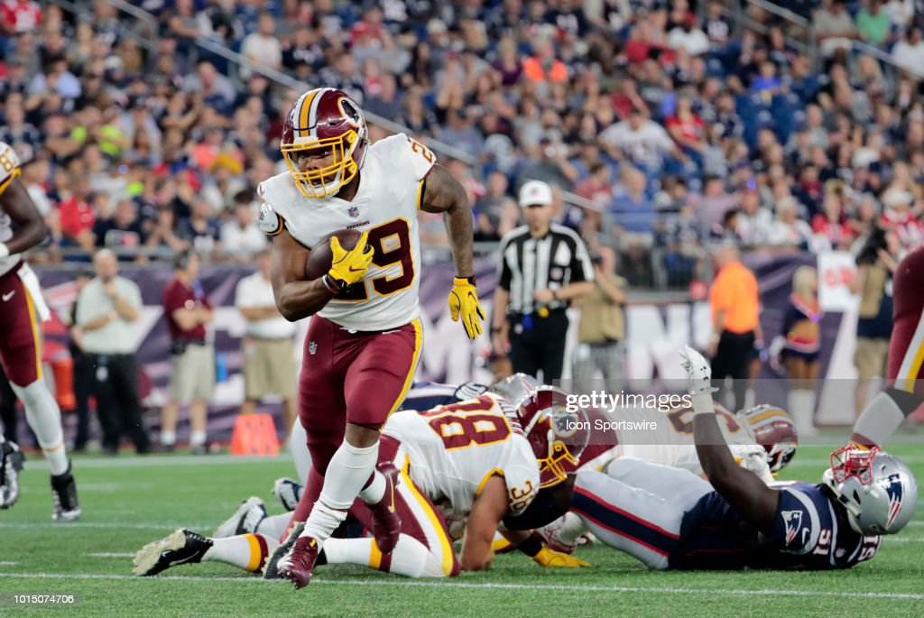 NFL: AUG 09 Preseason - Redskins at Patriots : News Photo