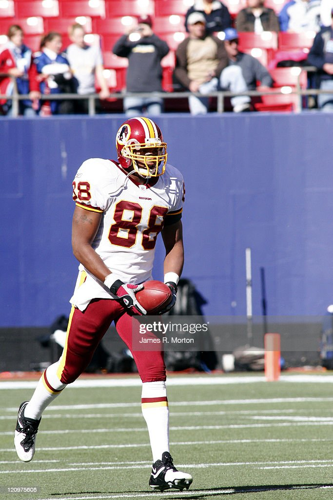 Washington Redskins vs New York Giants - October 30, 2005