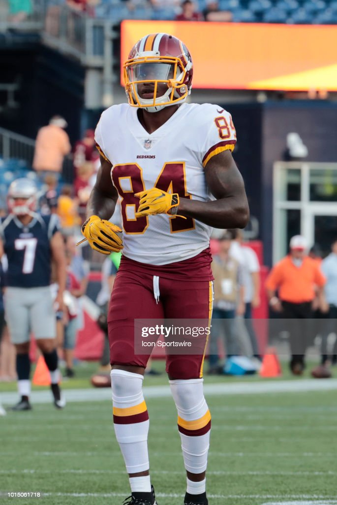 wholesale dealer e22e1 a2c2b Washington Redskins wide receiver Darvin Kidsy before a ...