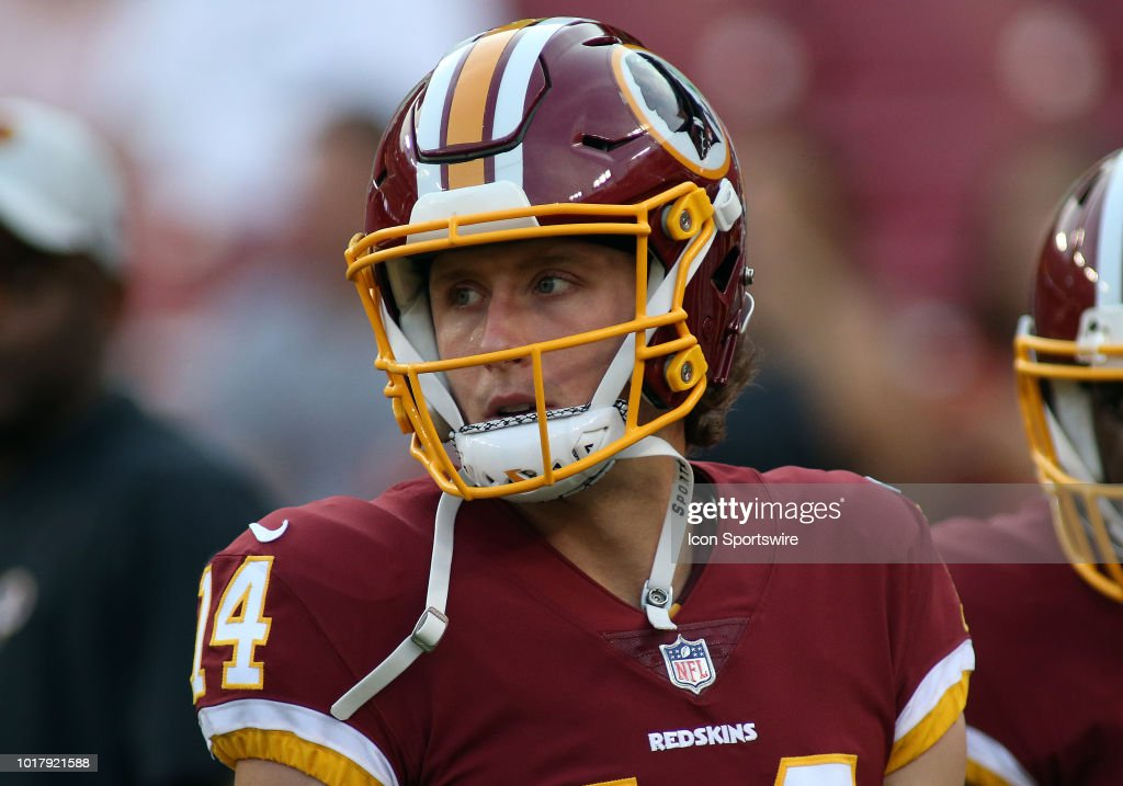 NFL: AUG 16 Preseason - Jets at Redskins : News Photo
