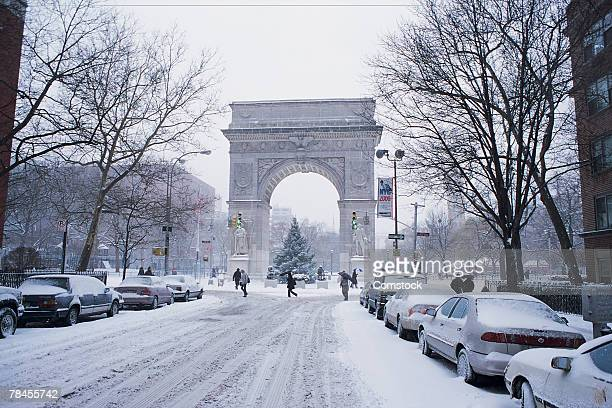 washington square park , new york city , usa - washington square park stock pictures, royalty-free photos & images
