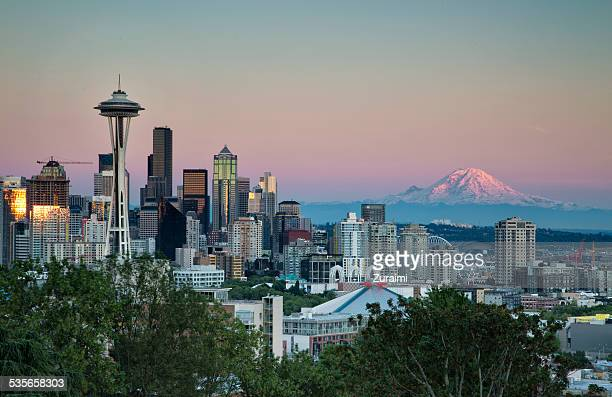 USA, Washington State, Belt of venus in Seattle