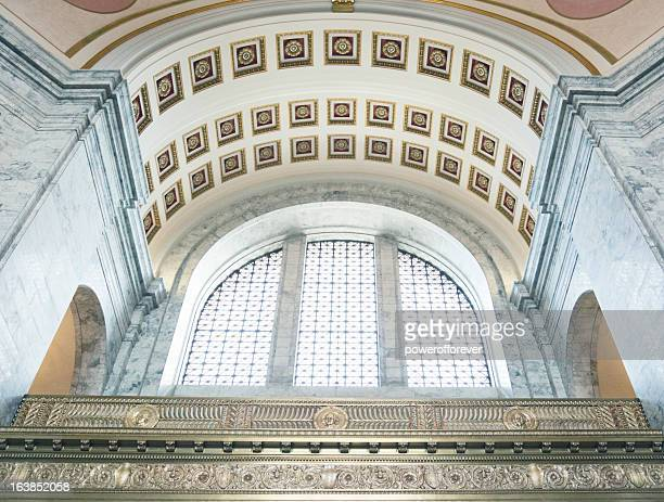 washington state capitol building - neoklassiek stockfoto's en -beelden