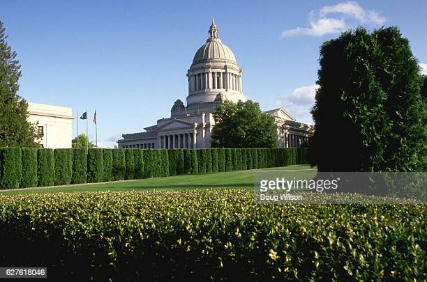 washington state capitol building - olympia washington state stock pictures, royalty-free photos & images