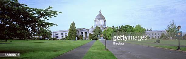washington state capitol panorama - olympia washington state stock pictures, royalty-free photos & images