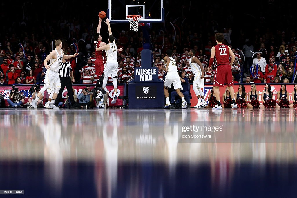 COLLEGE BASKETBALL: JAN 26 Washington State at Arizona : News Photo