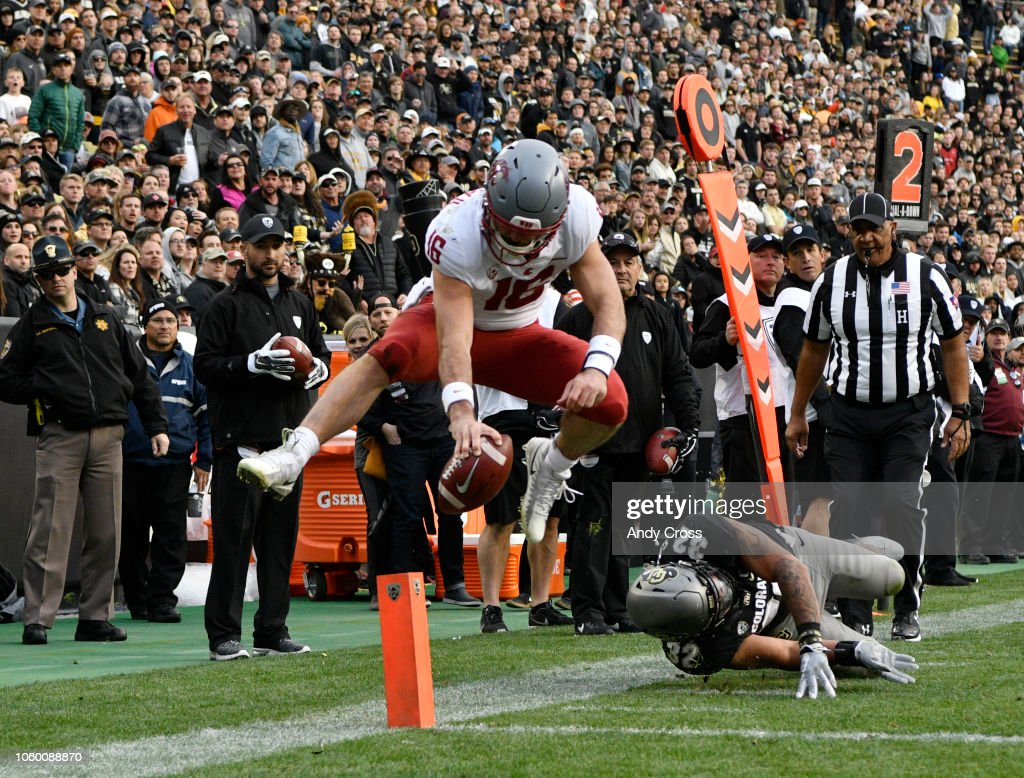 Colorado University vs Washington State : News Photo