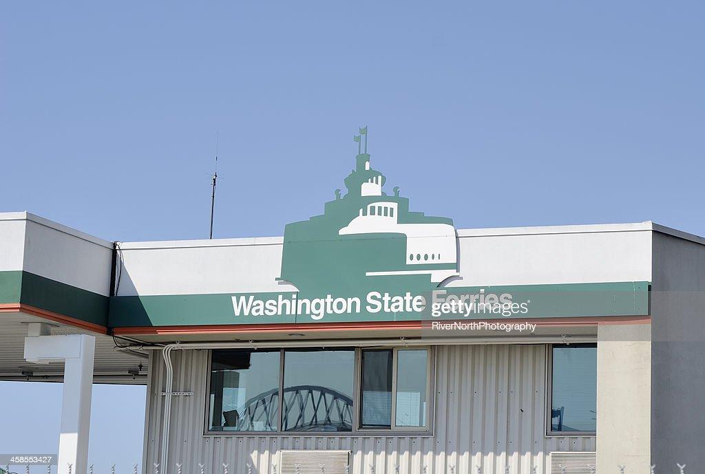 Washington State Ferries : Stock Photo
