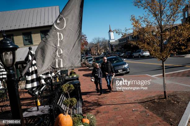 Washington Street on Tuesday November 21 2017 in Middleburg Virginia Middleburg is seeing a seeing a retail drain and it's having an impact on the...