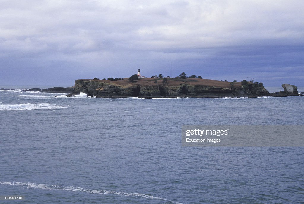 Washington, Tatoosh Island At Cape Flattery. : News Photo