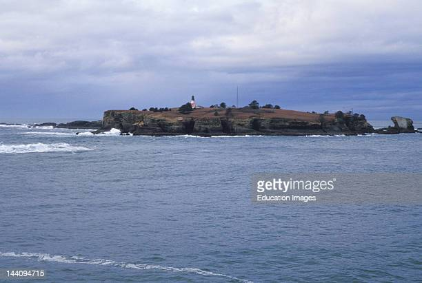Washington Tatoosh Island At Cape Flattery