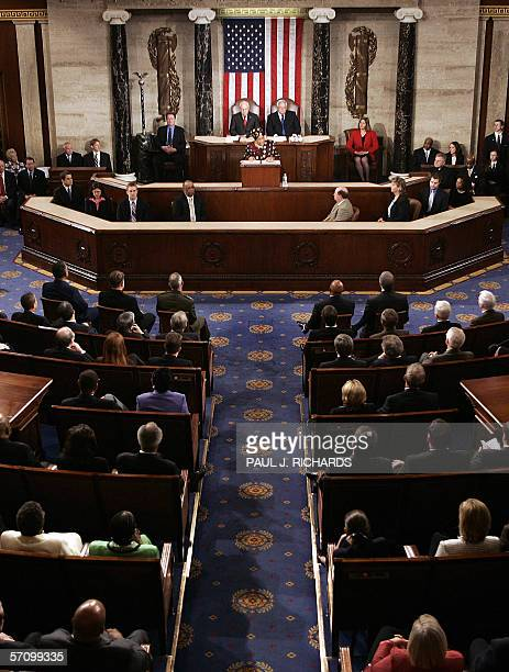 Liberian President Ellen JohnsonSirleaf addresses a joint session of the US Congress 15 March on Capitol Hill in Washington DC JohnsonSirleaf is the...