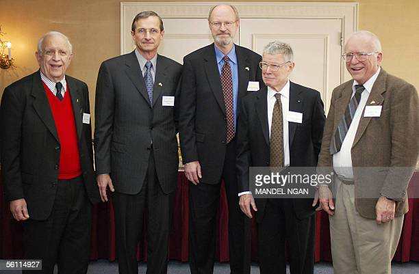 Roy Glauber and John Hall winners of the Nobel Prize in physics Robert Grubbs and Richard Schrock winners of the Nobel Prize in chemistry and Thomas...