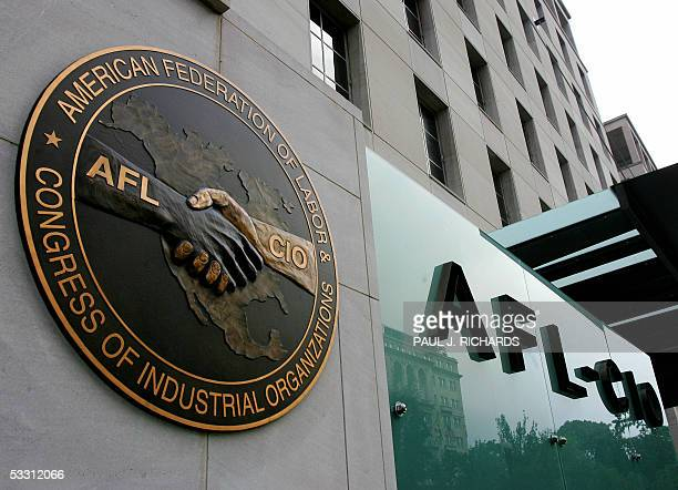 Washington, UNITED STATES: The AFL-CIO headquarters is shown in Washington, DC, 01 August 2005. Two of the nation's largest and most powerful unions...