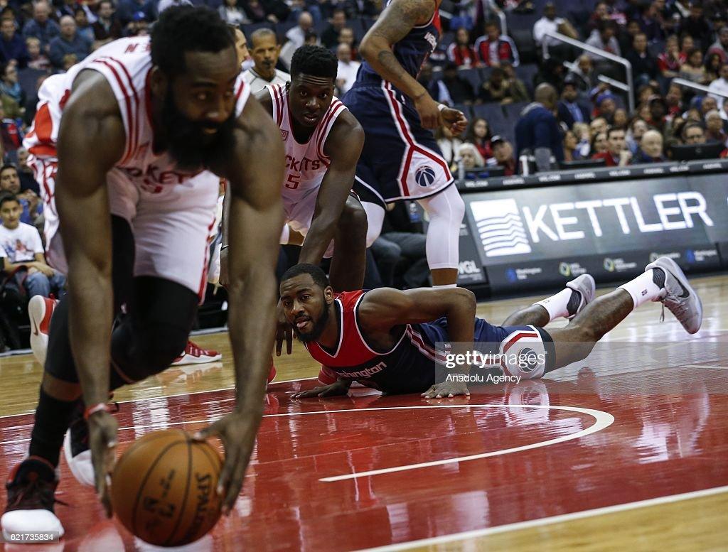 Washington Wizards vs Houston Rockets : News Photo