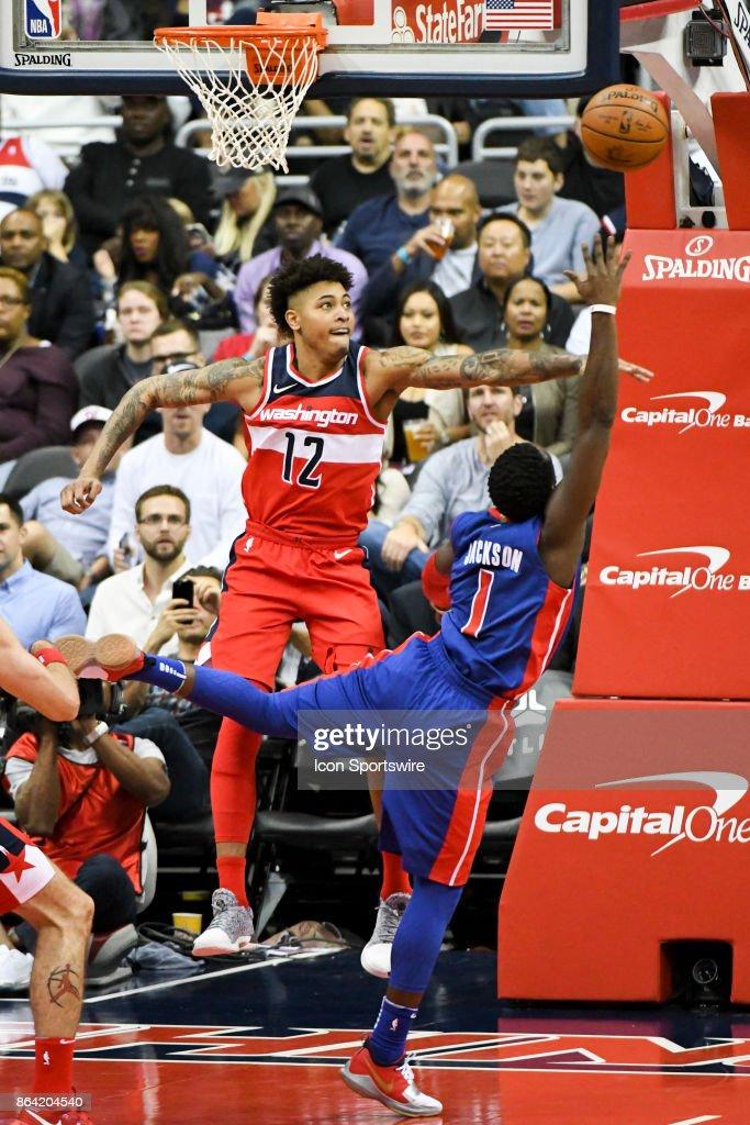 NBA: OCT 20 Pistons at Wizards : News Photo