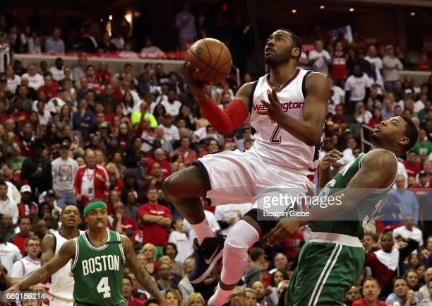 Washington Wizards guard John Wall had his way with Boston Celtics guard Marcus Smart and the Boston Celtics during a 260 run in the third quarter...