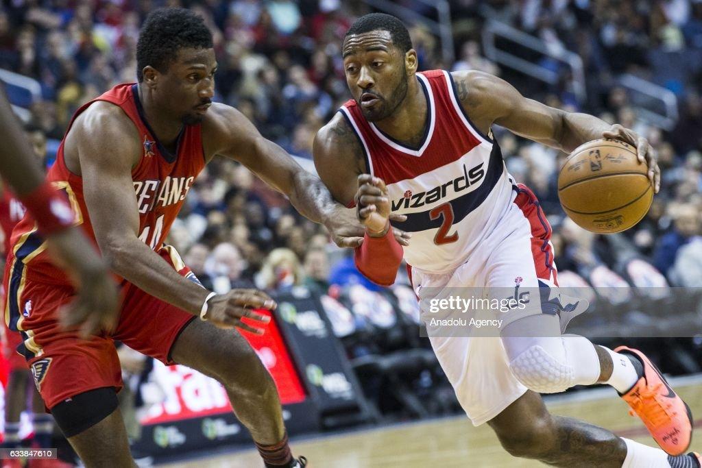 NBA - Washington Wizards vs New Orleans Pelicans : News Photo