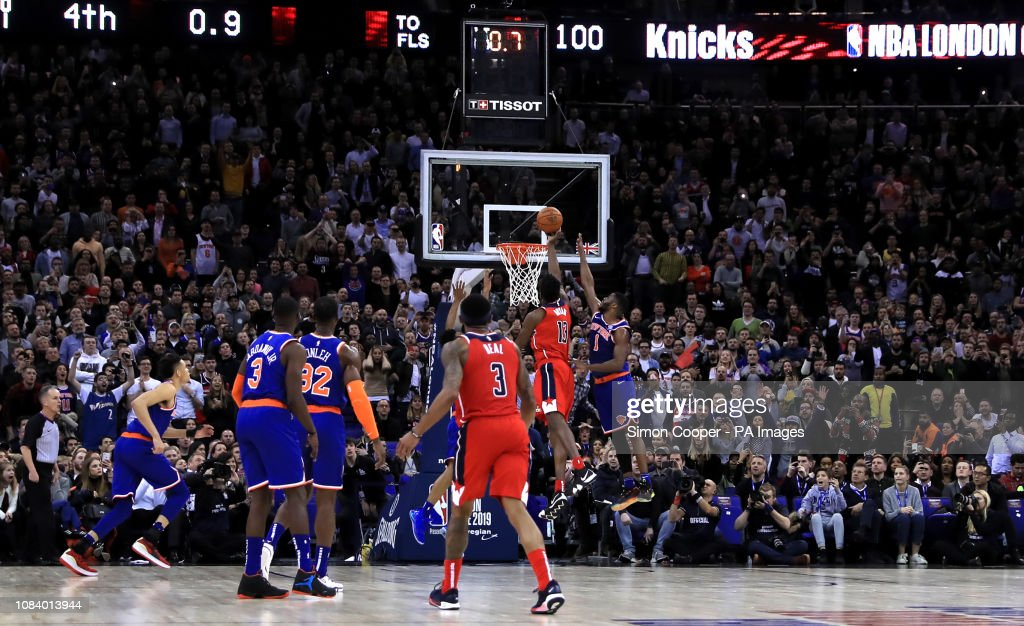 New York Knicks v Washington Wizards - NBA London Game 2019 - O2 Arena : News Photo