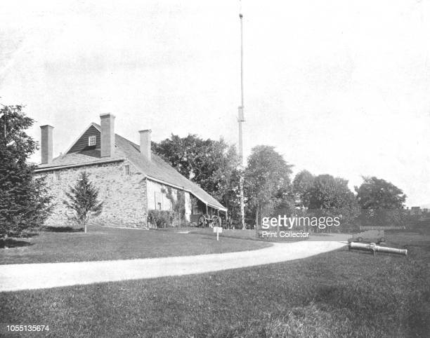 Washington's Headquarters Newburgh New York State USA circa 1900 George Washington first President of the United States lived here while he was in...