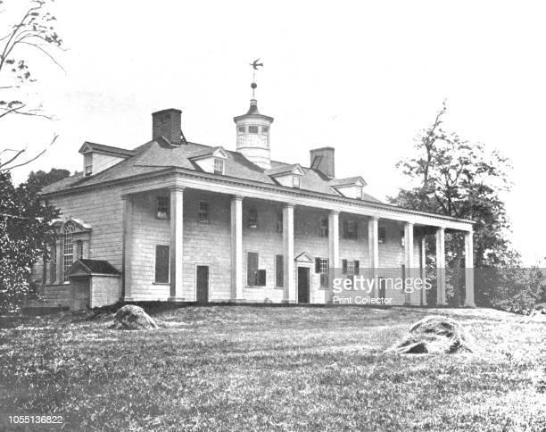 Washington's Home Mount Vernon Virginia USA circa 1900 Mount Vernon was the plantation home of George Washington the first President of the United...