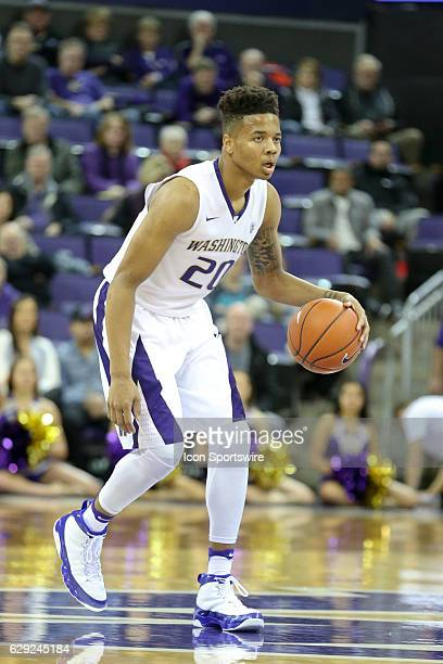 Washington's Markelle Fultz makes his move to the basket against Nevada Nevada won 8785 on a last second basket on December 11 at Alaska Airlines...