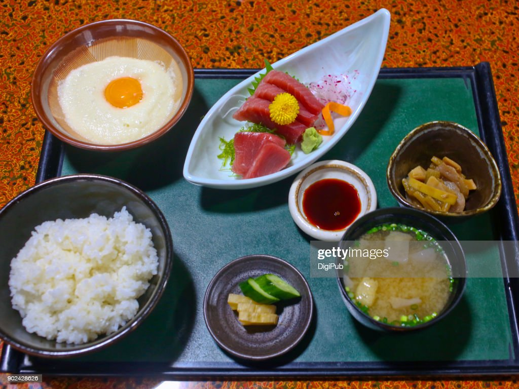 Washoku lunch meal : Stock Photo