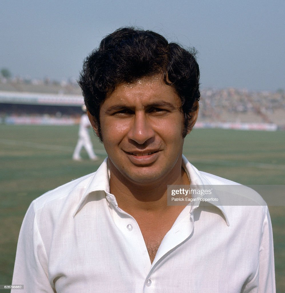 Wasim Bari of Pakistan during the 2nd Test match between Pakistan and India at the Gaddafi Stadium Lahore Pakistan 27th October 1978