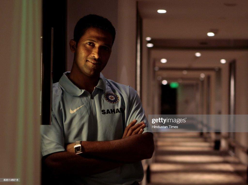 Wasim Jaffer at Hyatt Hotel on Tuesday.