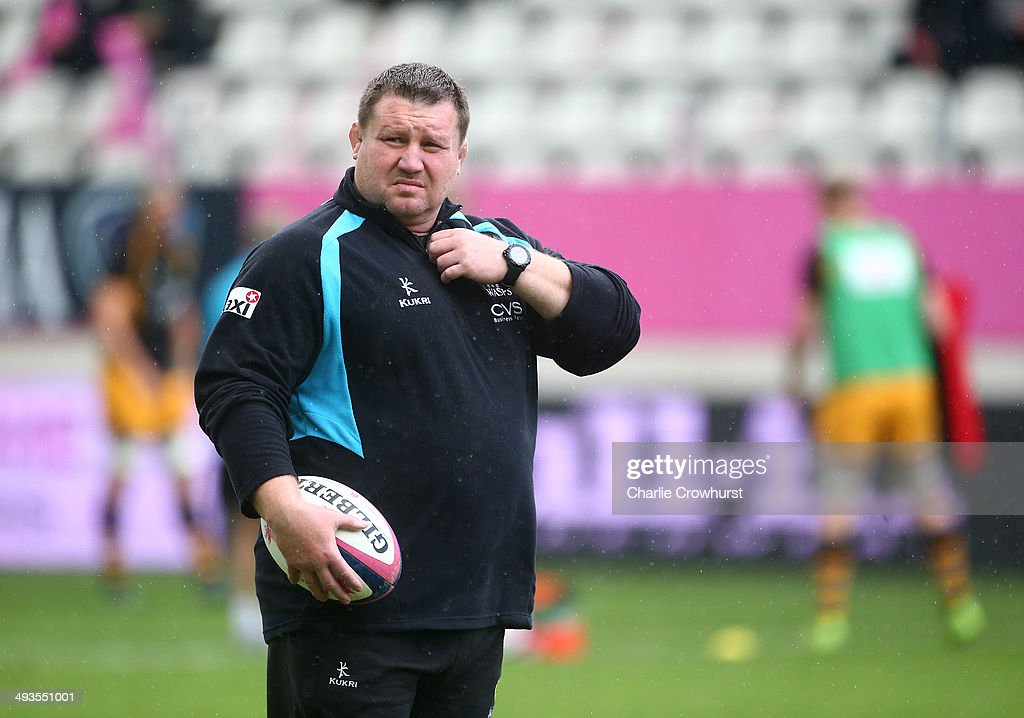 Stade Francais Paris v London Wasps - European Rugby Champions Cup Play-off : News Photo