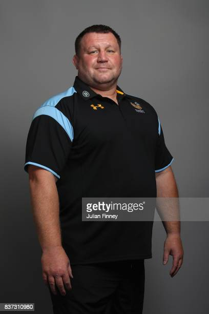 Wasps Director of Rugby Dai Young poses for a portrait during the Wasps photocall for the 20172018 Aviva Premiership Rugby season at Ricoh Arena on...