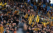 coventry england wasps fans celebrate try