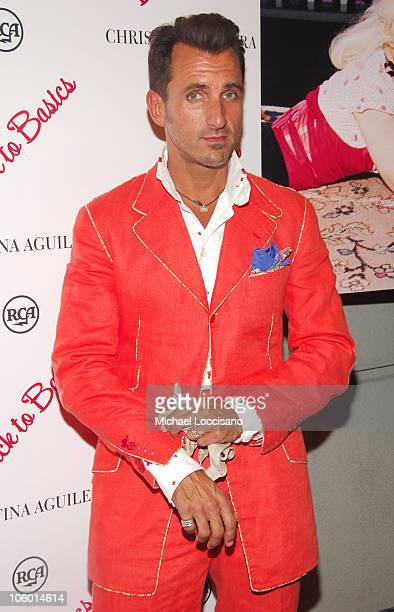 Wass Stephenson during Christina Aguilera's NYC Album Release Party August 15 2006 at Marquee in New York City New York United States