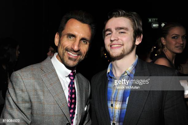 Wass Stevens and Carter Unger attend NIGHT AT AVENUE at Avenue on March 18 2010 in New York City