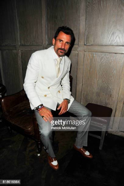 Wass Stevens attends AVENUE One Year Anniversary at AVENUE NYC on June 23 2010