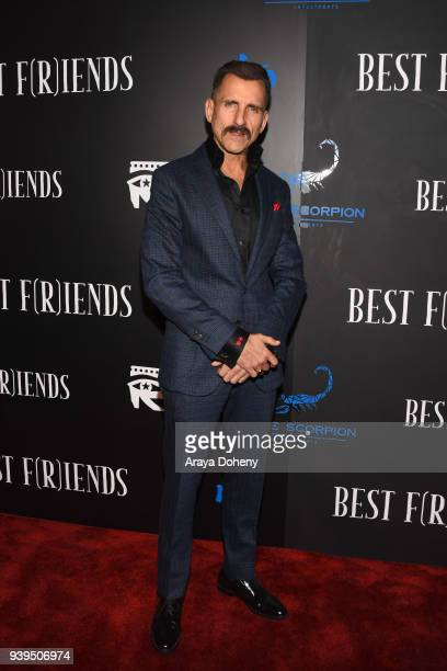 Wass Stevens attends the 'Best Fiends' Los Angeles Premiere at the Egyptian Theatre on March 28 2018 in Hollywood California