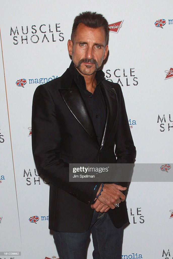 Wass Stevens attends the 'Muscle Shoals' New York Premiere at Landmark's Sunshine Cinema on September 19, 2013 in New York City.