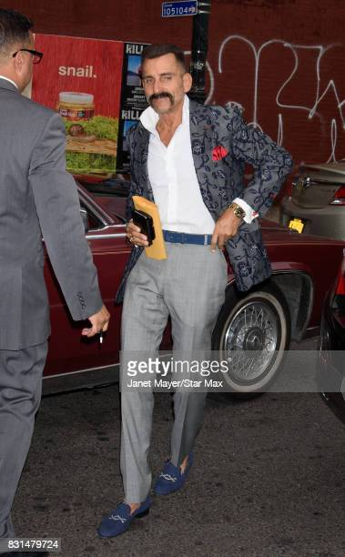 Wass Stevens is seen on August 14 2017 in New York City