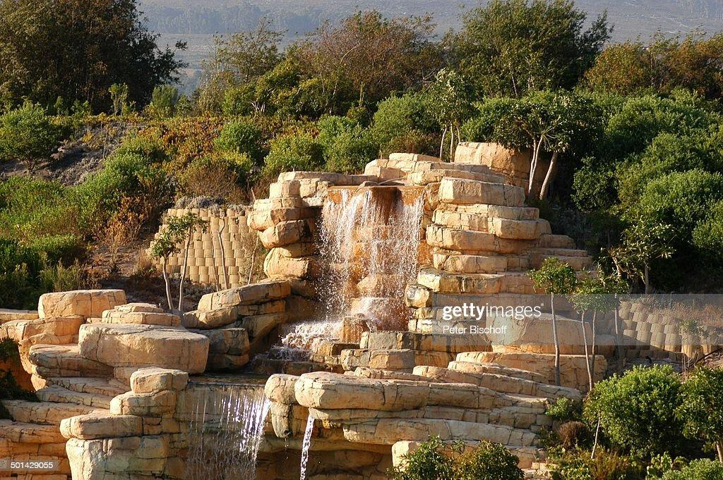 Wasserfall Am Pool U0027The Western Cape Hotel Spau0027 Kleinmond Bei Kapstadt  Südafrika Afrika Reise