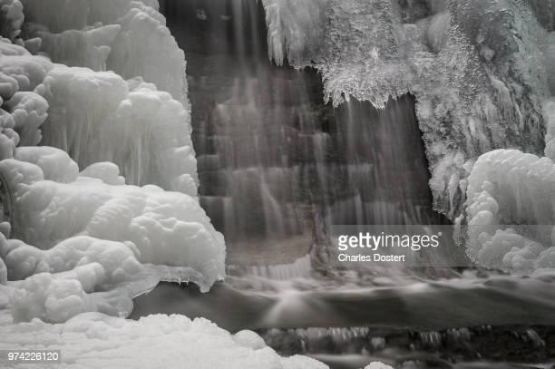 Wasserfall in Ice