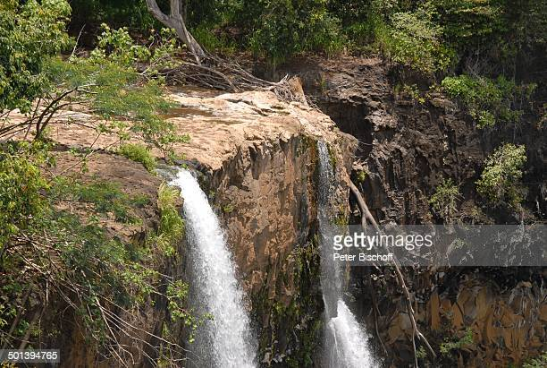 Wasserfall, Insel Kauai, Hawaiian Island, Süd-Pazifik, USA, Amerika, Hawaii, Reise, BB, DIG; P.-Nr.: 1337/2007, ;