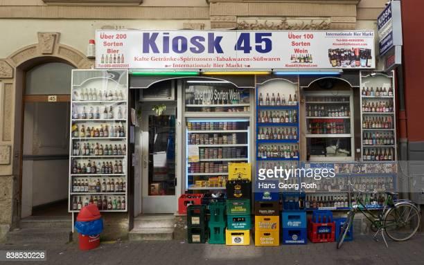 'Wasserhäuschen', Kiosk, with over 200 varieties of beer in Bornheim