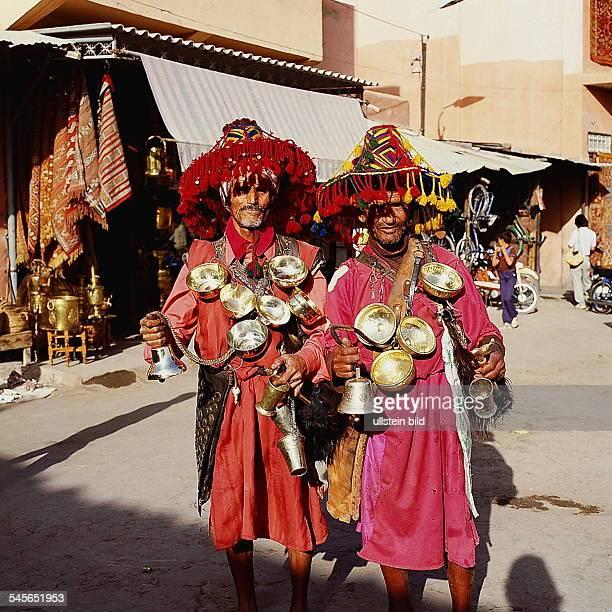 Wasserverkäufer in Marrakesch oJ